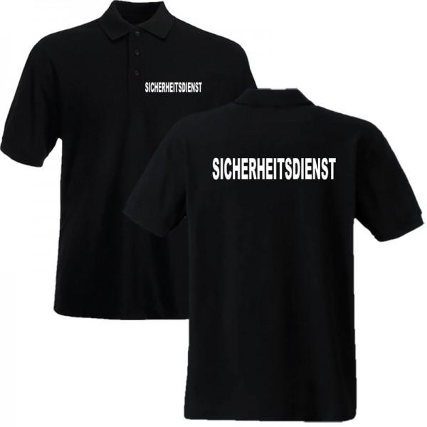 Poloshirt SICHERHEITSDIENST - Unisex/Kindergrößen