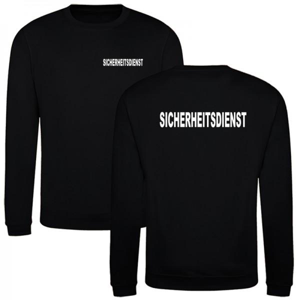SICHERHEITSDIENST Premium Sweatshirt