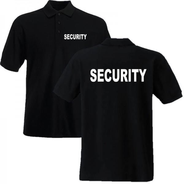 Poloshirt SECURITY - Unisex/Kindergrößen